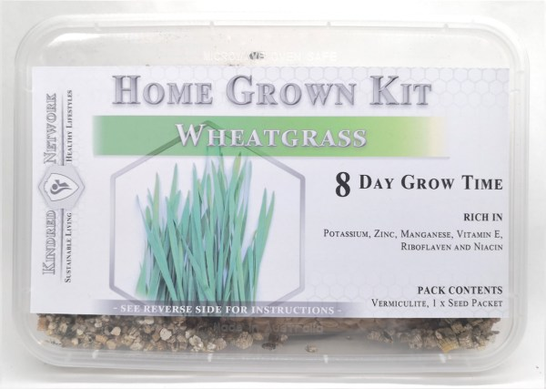 Home Grown Kit Wheatgrass