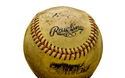 A BASEBALL, THE POEM
