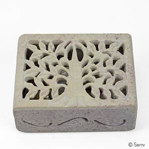 BOX TREE OF LIFE SOAP STONE