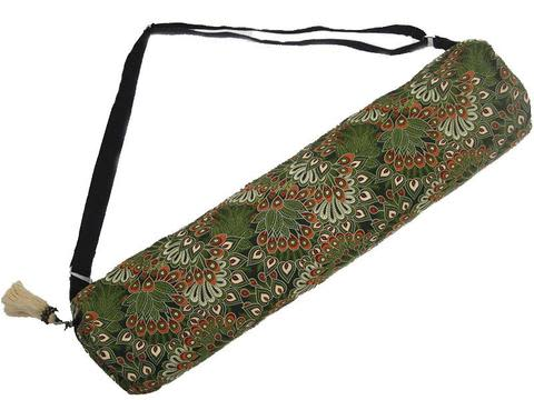 Peacock Yoga Bag – Forest