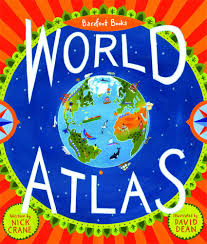 BOOK WORLD ATLAS BAREFOOT BOOKS