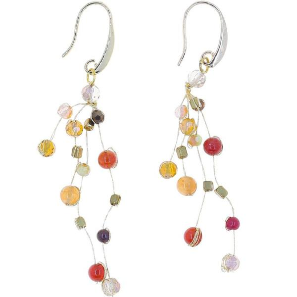 Float Earrings – Amber