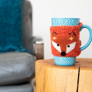 MUG COZIE ANIMALS WITH BUTTONS