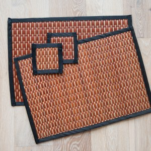 REED PLACEMATS WITH COASTERS
