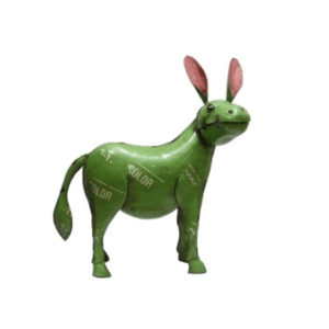 RECYCLED METAL DONKEY SMALL