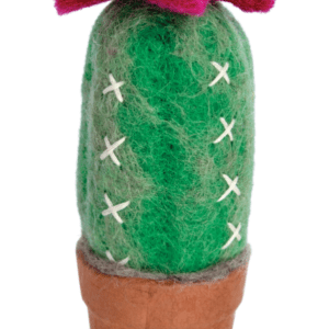 FELT CACTUS TORCH ORNAMENT