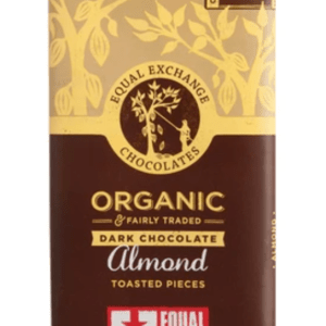 DARK CHOCOLATE BAR – ALMOND