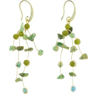 Float Earrings – Green