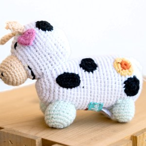 RATTLE COW