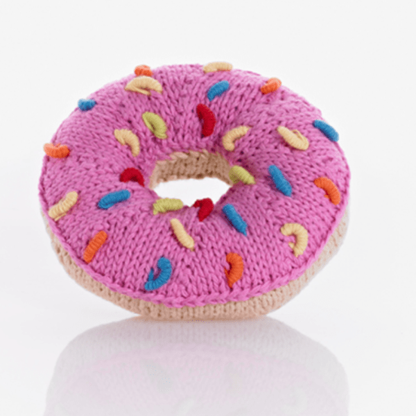 RATTLE DONUT PINK