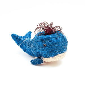 COCONUT PLANT HOLDER – WHALE