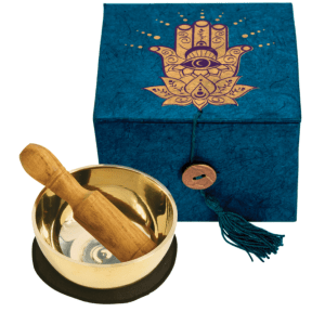 SINGING BOWL WITH BOX – HAMSA