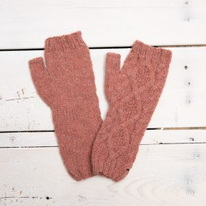 BRAIDED KNIT ARM WARMER