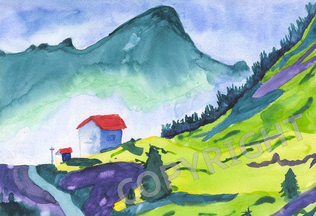 misty-mountain-danielle-wilke-watercolor-copyright-1200