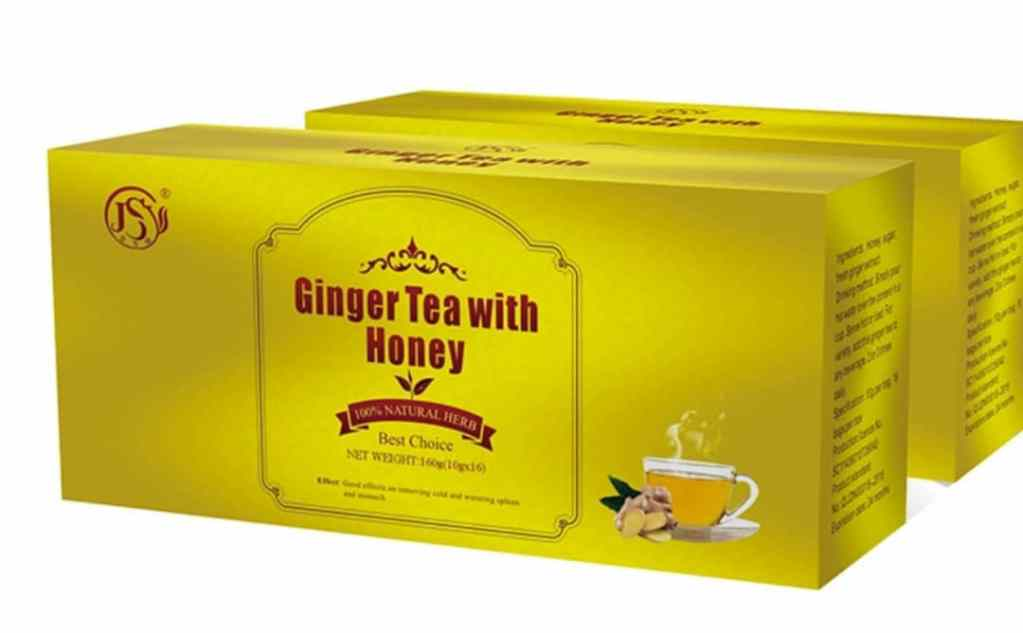 Ginger Tea with Honey