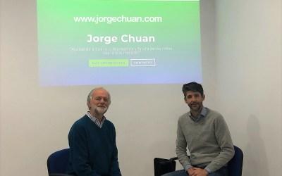 Presentación Nueva Pagina Web: www.jorgechuan.com