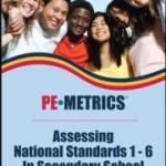 9780883149607 --PE Metrics Assessing National Standards 1-6 in Secondary School