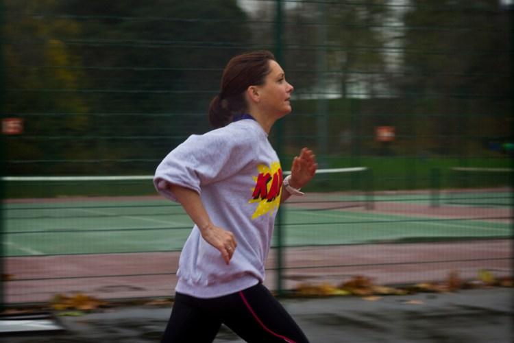 Running Arm Swing