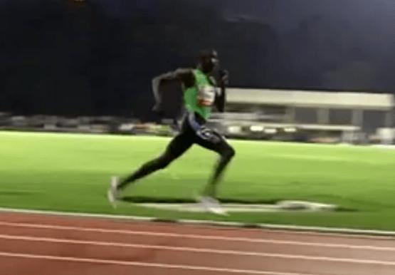 David Rudisha Running Form in Slow Motion