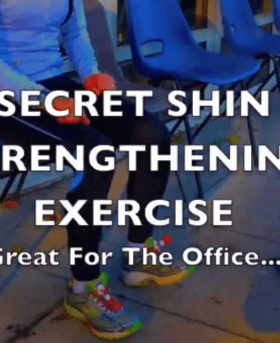 Secret Shin Strengthening Exercise!