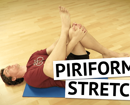 Figure 4 Piriformis Stretch for Sciatica & Buttock Pain