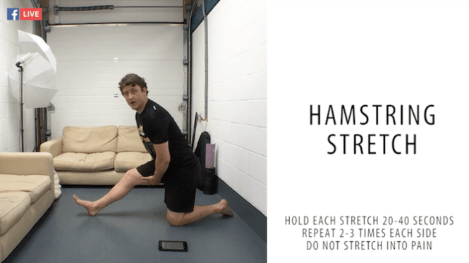 Running Stretches - Hamstring Stretch - Cool Down Stretches - Stretch Routine - Stretch After Running