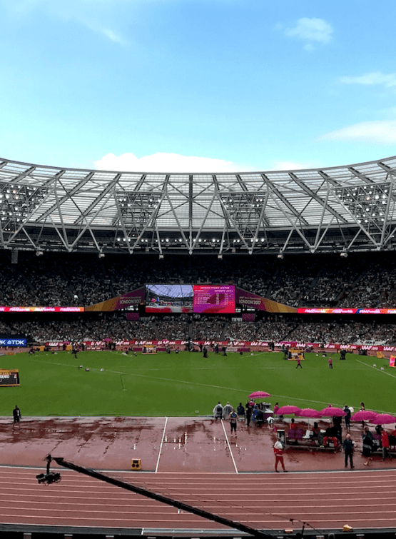 Behind the Scenes at IAAF World Championships 2017 [Part 2]