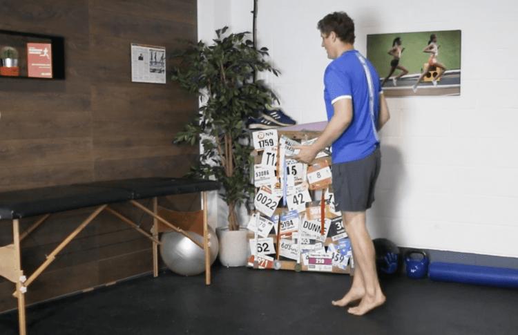 Toe Walk Drill for Ankle Strengthening