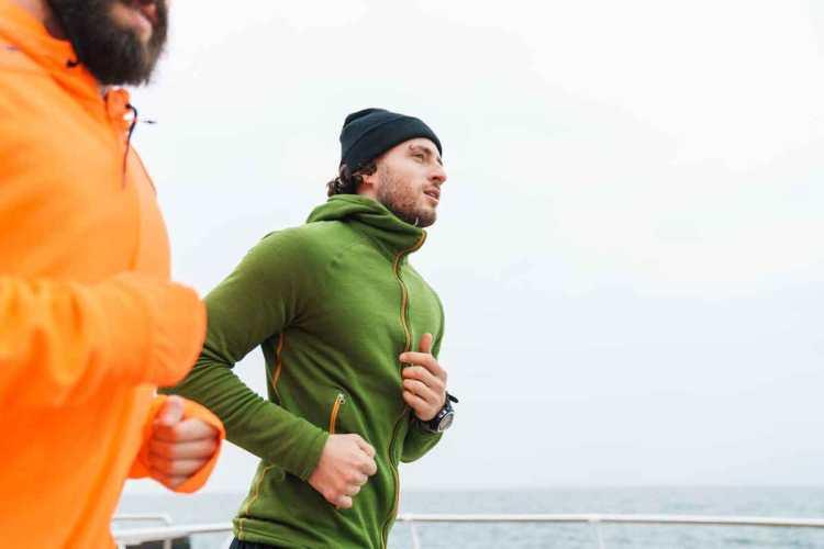 Inguinal hernia and running