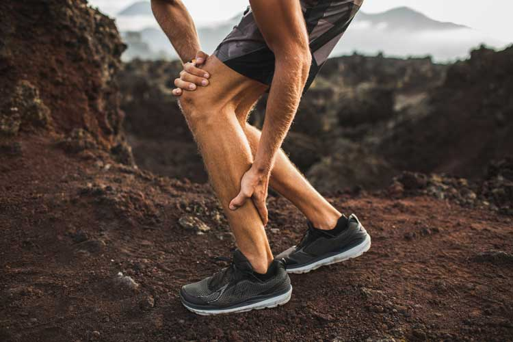 can you run with a calf strain?