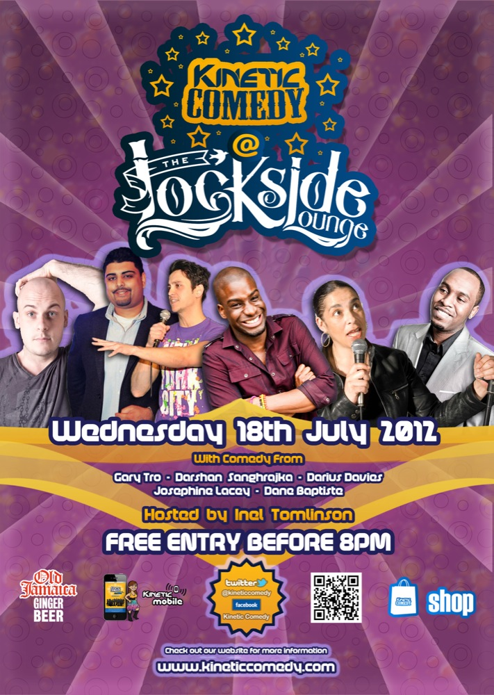 Lockside Laughs is this Week