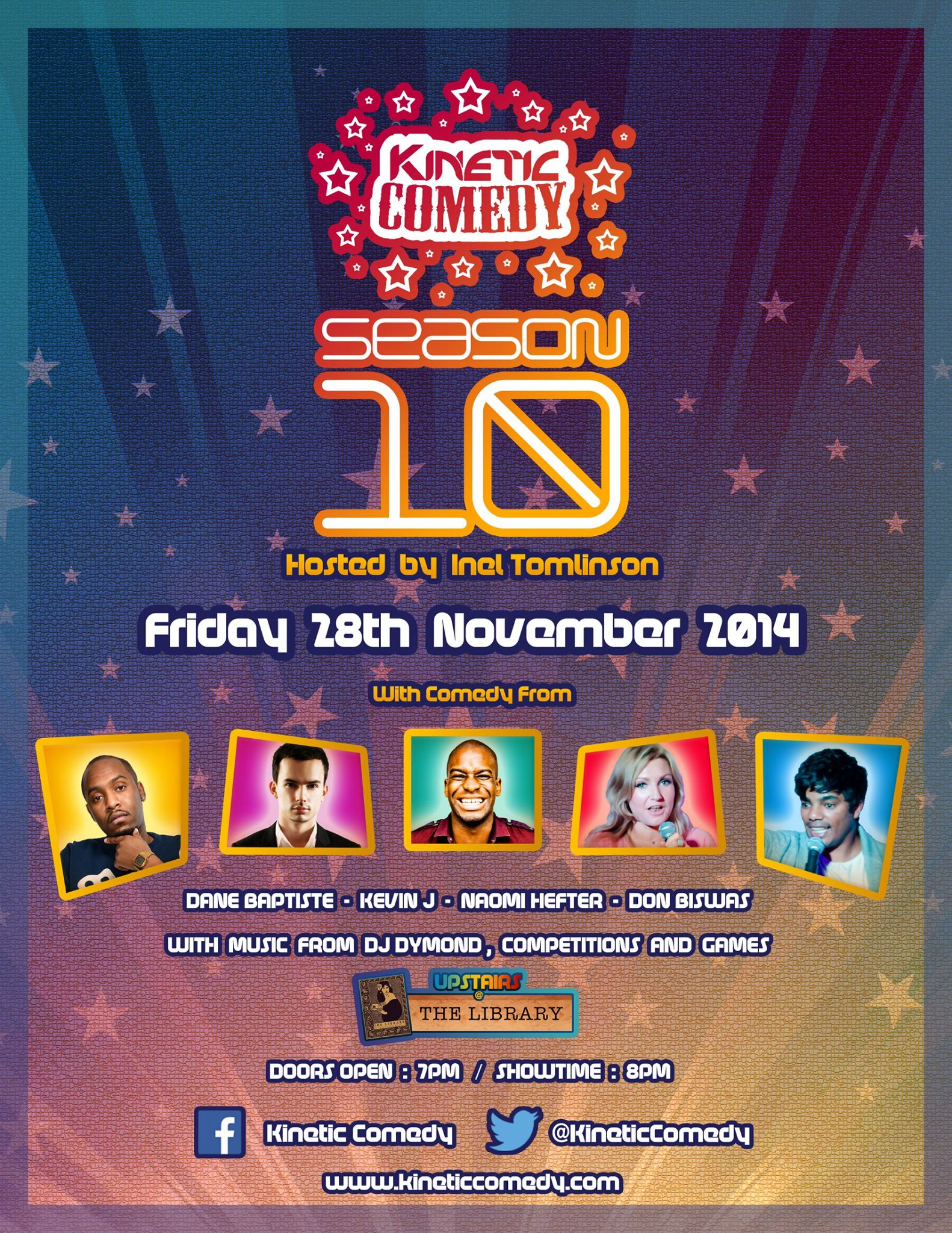 Kinetic Comedy 10.5 – The Last Show of the Season