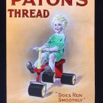 Advertising Lantern Slides from Paton's of Johnstone.