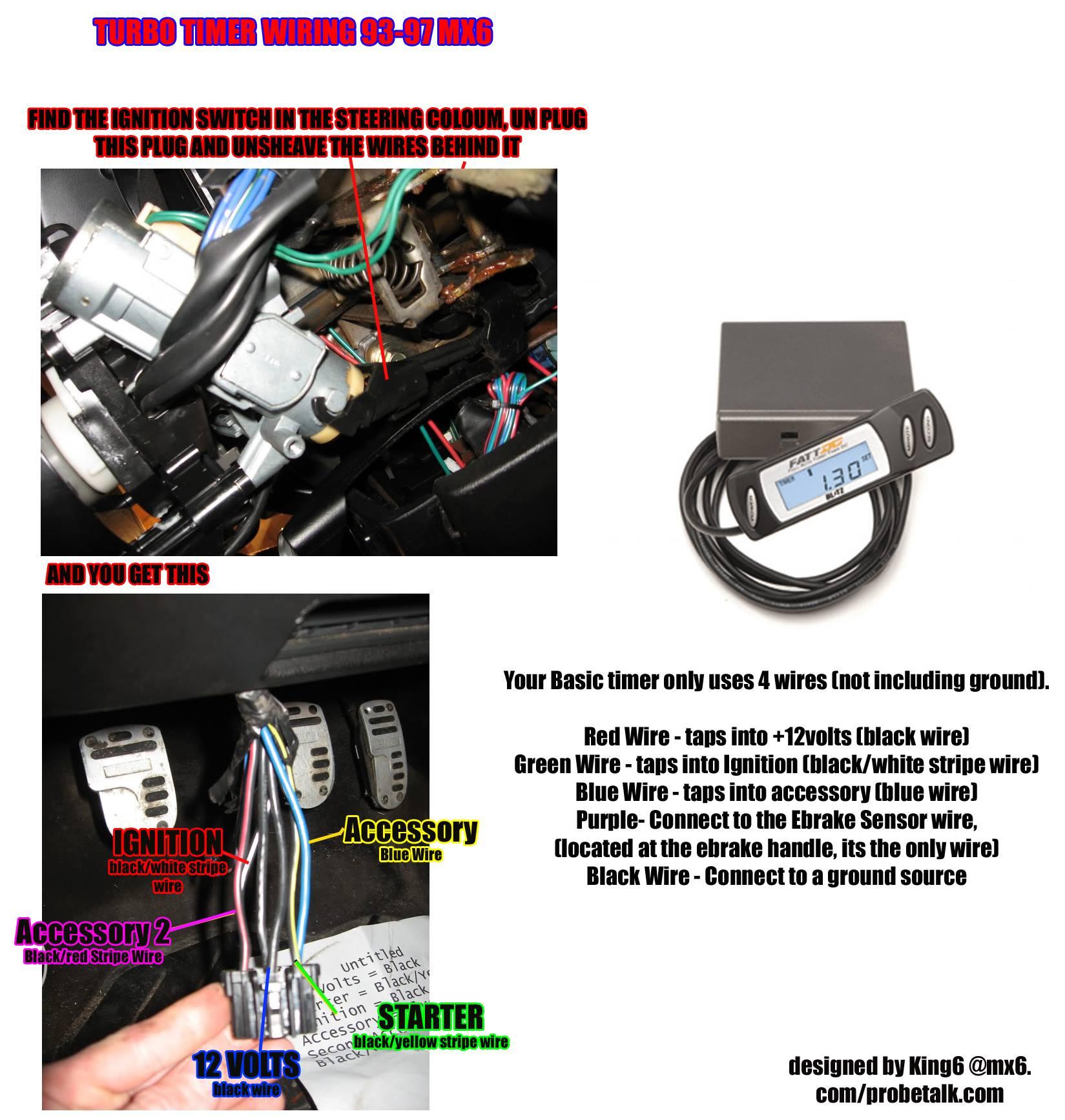 Turbo Timer Wiring  U2013 Welcome To King6fab