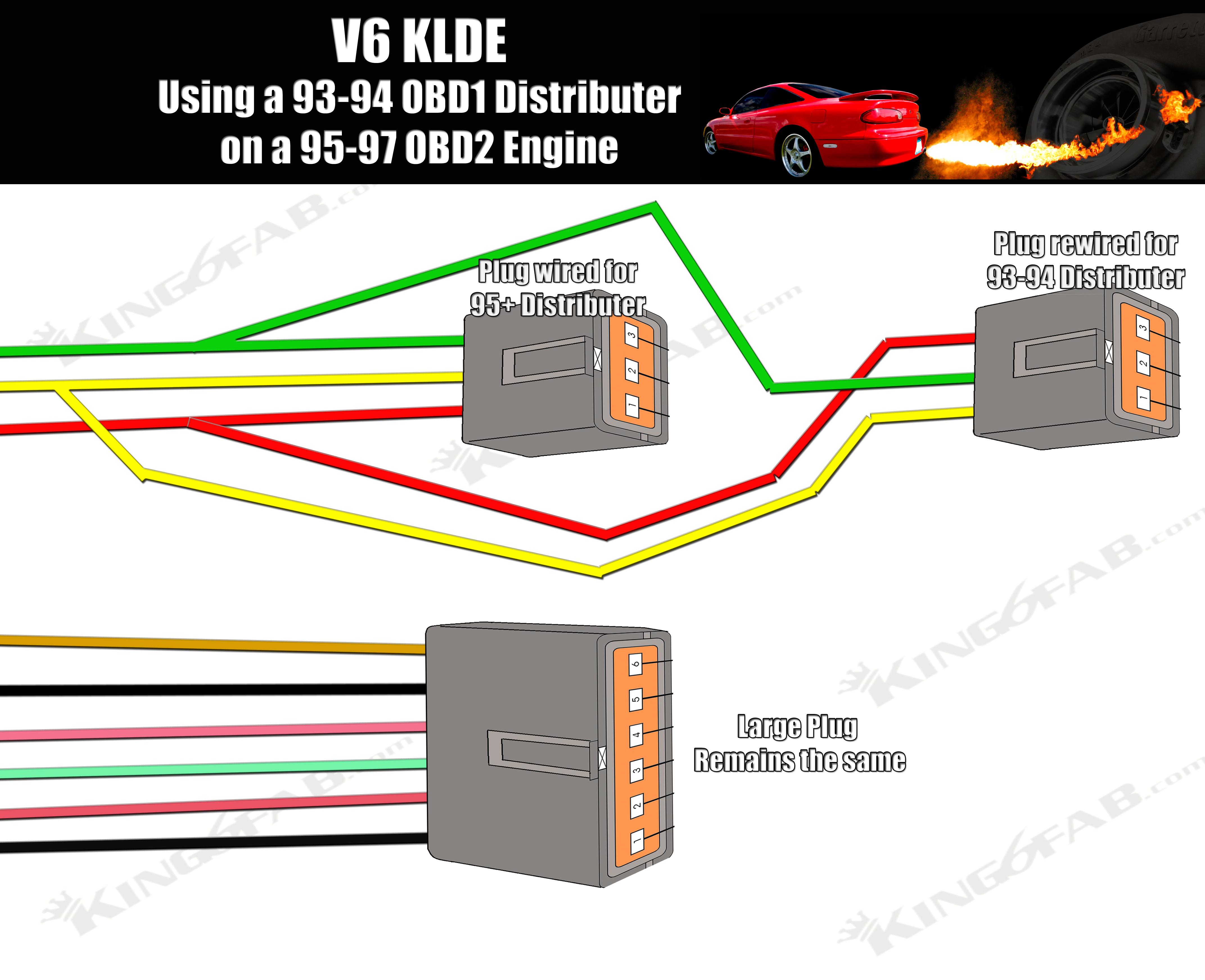 1997 mazda mx6 wiring schematic 93 94 to 95 distributor conversion     welcome to king6fab  93 94 to 95 distributor conversion