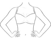 Διάλεξε το σωστό μέγεθος σουτιέν | mystring e-shop