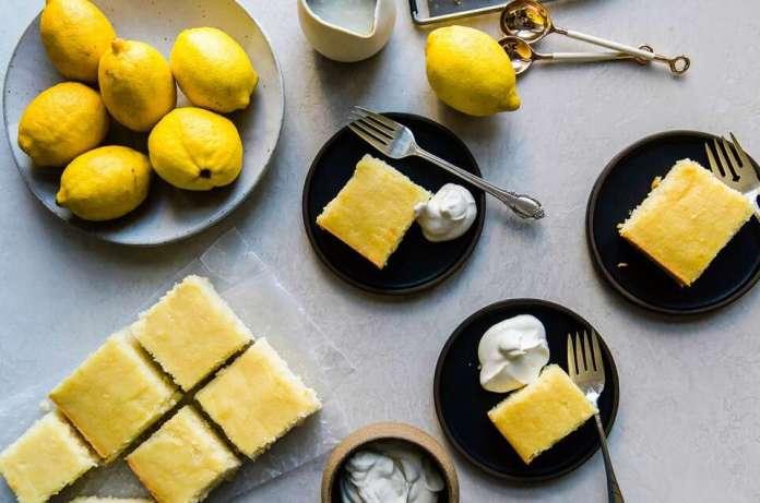 Classic Lemon-Buttermilk Cake