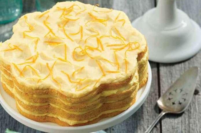 Orange & Cream Cake