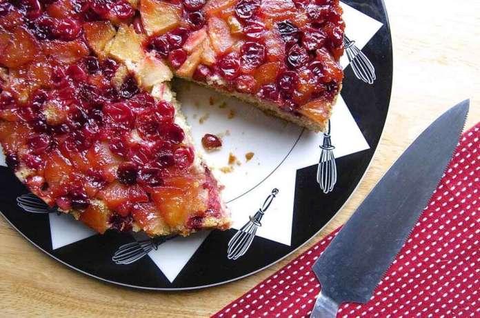 Harvest Apple Cranberry Cake