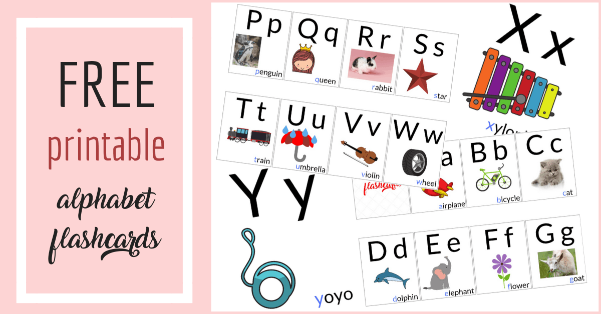 picture relating to Abc Flash Cards Printable identify Totally free Alphabet Printables for Babies - KingasCorner