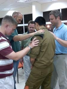 praying for friend