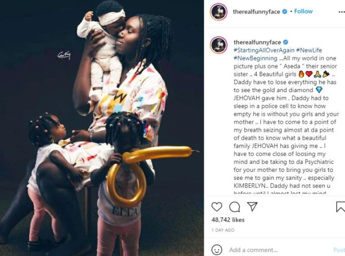 I CAN'T LIVE WITHOUT VANESSA AND MY KIDS - FUNNY FACE CONFESSES