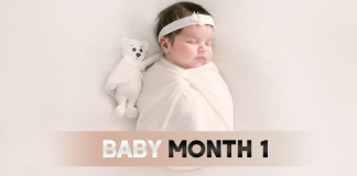 Baby Month By Month : Month 1