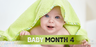 Baby Month By Month - (Month 4)