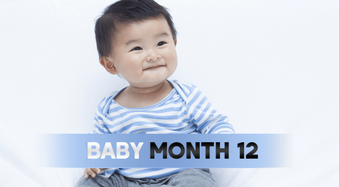 12 Month Old Baby
