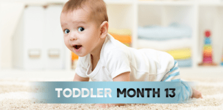 Toddler Month By Month- (Month 13)