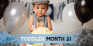 Toddler Month By Month - Month 21