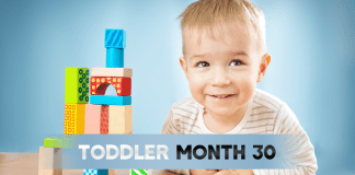 30 Month Old Toddler