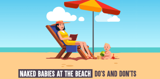 Naked Babies At The Beach: Do's And Don'ts