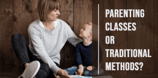 Parenting Classes or Traditional Methods Cover